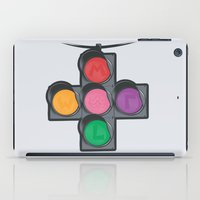 N Street Traffic Light iPad Case