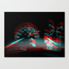 degenerated speed Canvas Print
