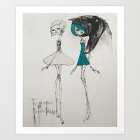 the adventures of isobelle pascha Art Print