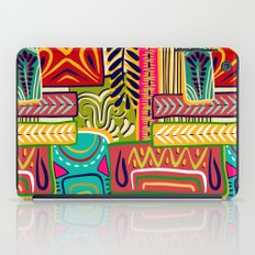 Geometric African Boho Pattern iPad Case