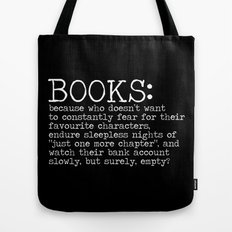 The Harsh Reality... (inverted) Tote Bag