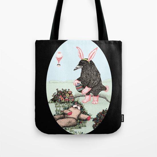 Crow Serie :: Easter Crow Tote Bag