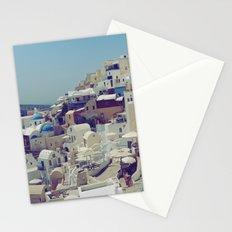 Oia, Santorini, Greece III Stationery Cards