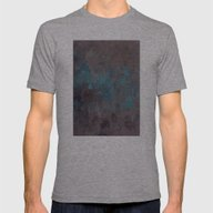 Abstract XXX Mens Fitted Tee Athletic Grey SMALL