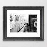 Before Getting On The Ne… Framed Art Print