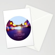Live your dreams Stationery Cards