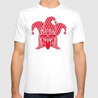 Karnahual Mens Fitted Tee White SMALL