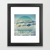 Sea Balance Framed Art Print