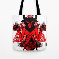 Blackmagic.red Tote Bag
