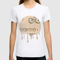 mmmmm Womens Fitted Tee Ash Grey SMALL