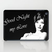 Good Night Love iPad Case