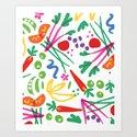 Full Spectrum Salad Art Print