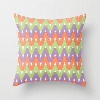 Summer Pattern 2 Throw Pillow