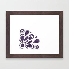 morado Framed Art Print
