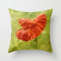 Invitation to the Dance Throw Pillow