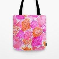 The skin of Pink Cheetah Tote Bag