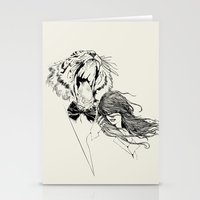 The Tiger's Roar Stationery Cards