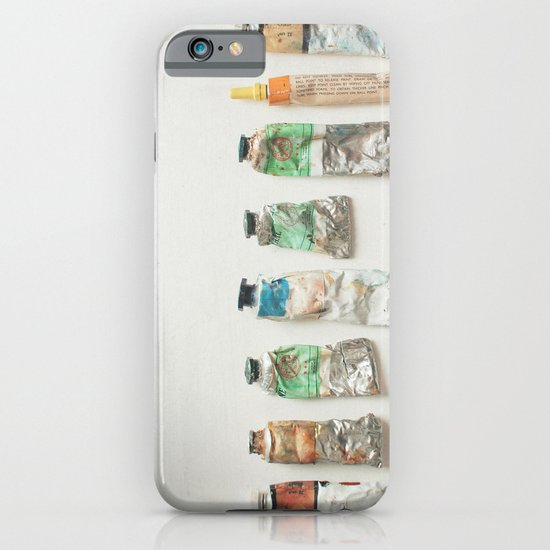 Oil Paints iPhone & iPod Case