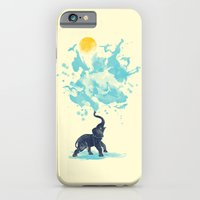 iPhone Cases featuring summer splash by Steven Toang