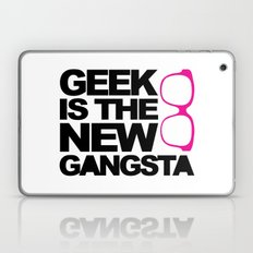 Geek Gangsta Quote Laptop & iPad Skin