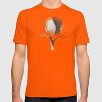 earth 2 Mens Fitted Tee Orange SMALL