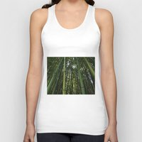 Bamboo Forest Unisex Tank Top