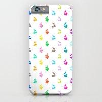 Rainbow Cherries iPhone 6 Slim Case