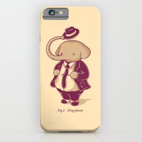 iPhone & iPod Case featuring Eleg-phant by gebe