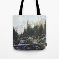 Rocky Mountain Creek Tote Bag