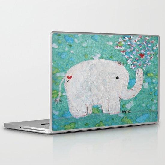 Elephants Love Laptop & iPad Skin