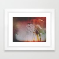 Trafalgar Abstraction Framed Art Print