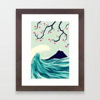 Falling in love 2 Framed Art Print