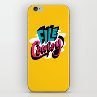 File Cowboy iPhone & iPod Skin