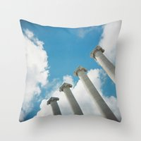 Hello new World Throw Pillow