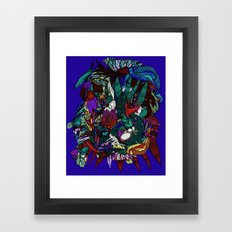 Jungle tree Framed Art Print