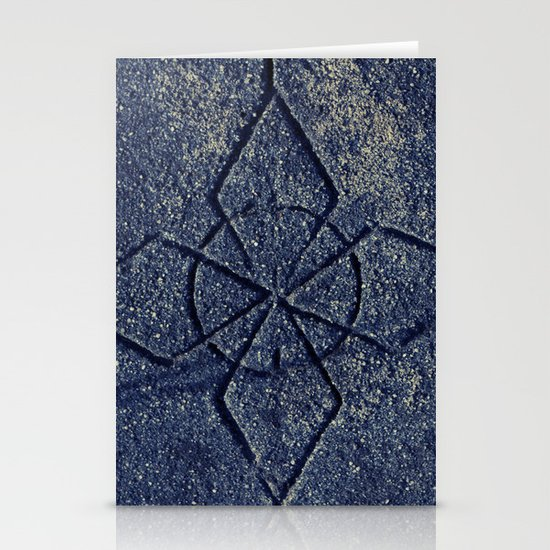 Stone Carving Stationery Card