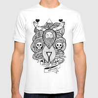 Amor Vincit Omnia Mens Fitted Tee White SMALL