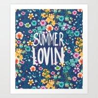 Summers Night Art Print
