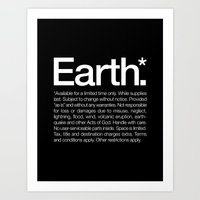 Earth.* Available For A … Art Print