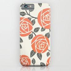 Retro Roses iPhone 6 Slim Case