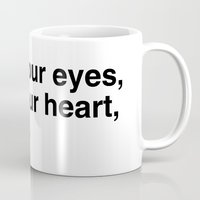 Close your eyes, clear your heart, let it go. Mug