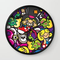 Alice In Kawaiiland Wall Clock