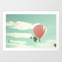 Flight Of The Redneck Co… Art Print