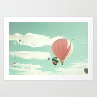 Flight Of The Redneck Co… Art Print