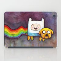 Nyan Time with Jake and Finn iPad Case