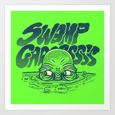 Swamp Gas Art Print