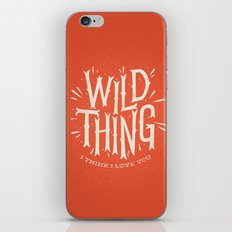Wild Thing iPhone & iPod Skin