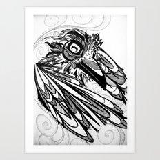 Raven's Escape Art Print