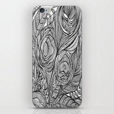 Garden of fine lines iPhone & iPod Skin