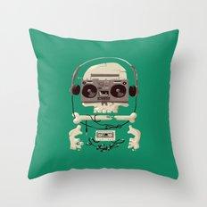 Doombox Throw Pillow
